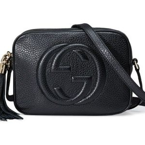 Black Gucci Soho Disco Small Crossbody Bag